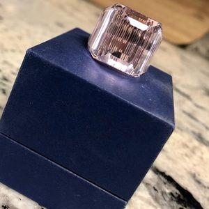 Pink Crystal Swarovski Ring - Size 7 💕